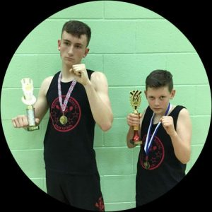 kickboxing-competition training for kids